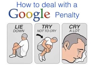 Dealing with Google Penalty Meme