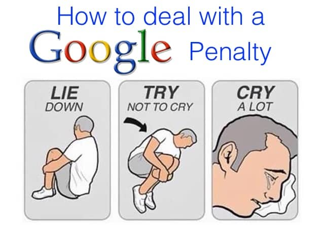 how to deal with a google penalty
