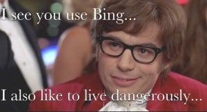 Bing SEO Meme