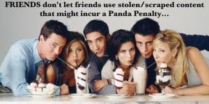 Avoiding the panda penalty