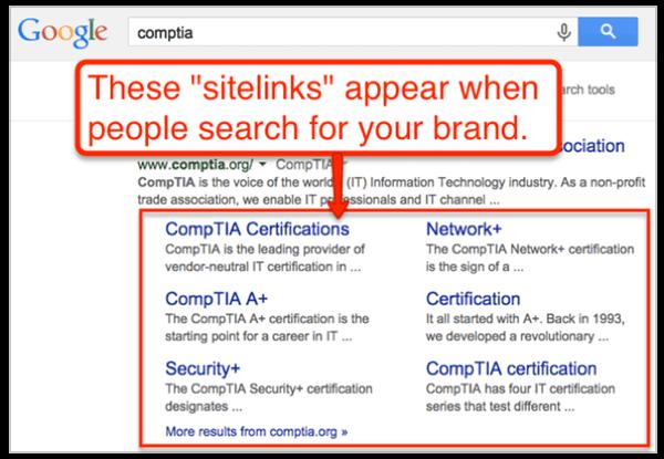 sitelinks