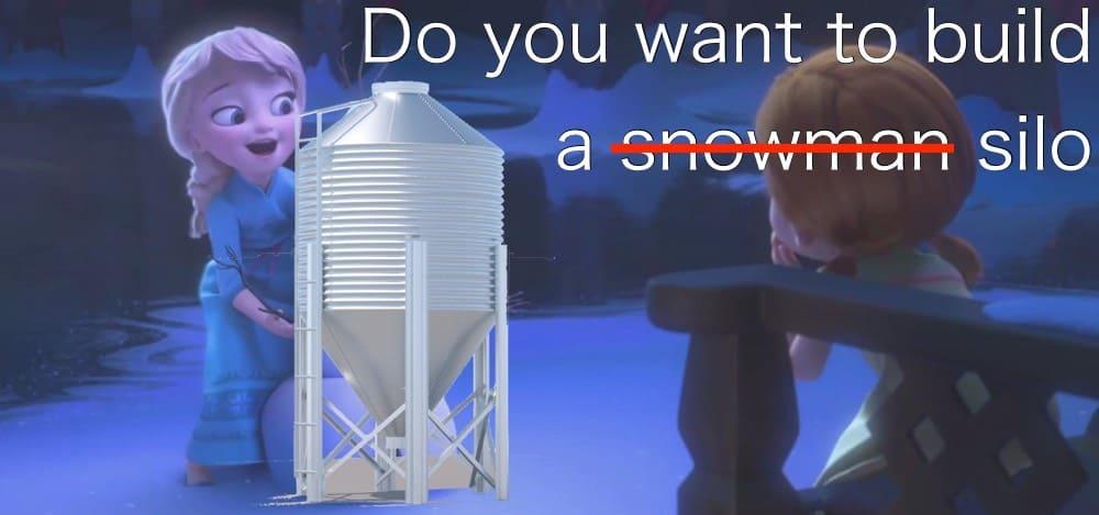 build a silo