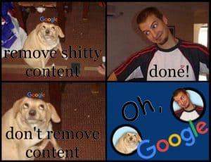 Oh, Google! SEO Meme