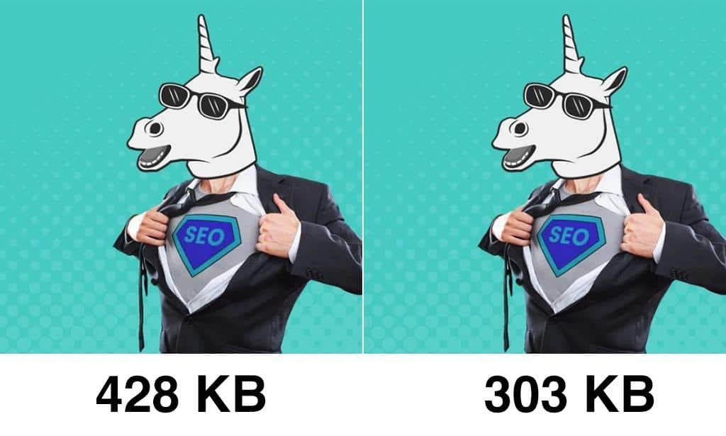 image compression size and quality comparison