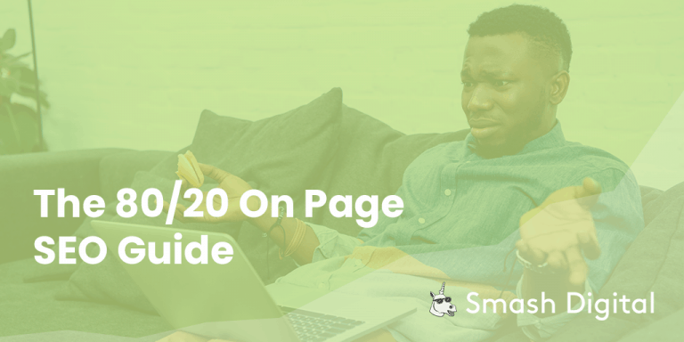 the 80-20 on-page seo guide