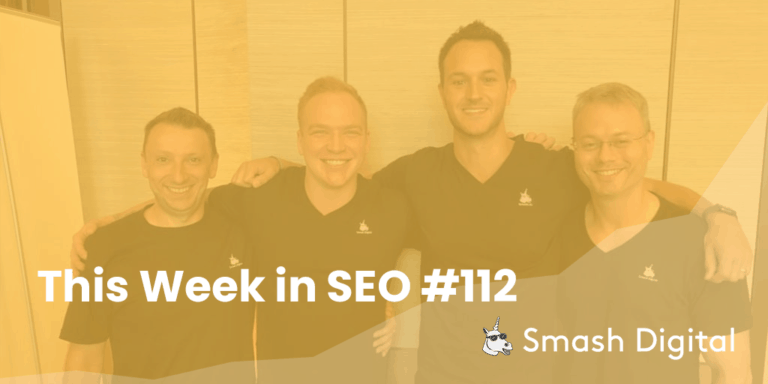 this week in seo 112 - bert and other google updates